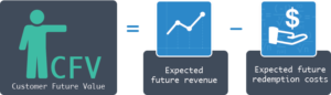 Customer future value equation